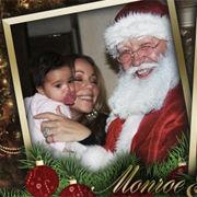 Mariah Carey compartió tierna tarjeta navideña con fotos de sus bebés