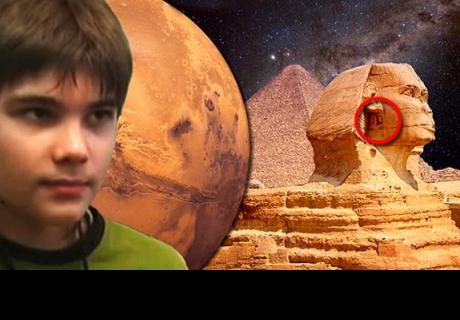 'Niño de Marte' revela que se aproxima el fin de la humanidad y alarma al mundo