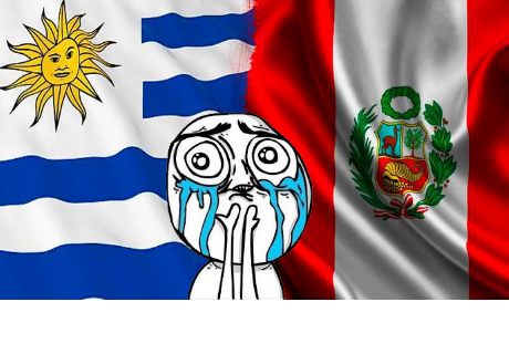 Uruguay sorprende a la hinchada peruana con una conmovedora 'dedicatoria'