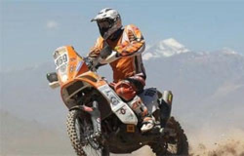 Dakar 2012: Tramo de motos es recortado por lluvias intensas