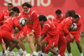 Fútbol peruano: Selección entrenará hoy en la videna pensado en Nigeria