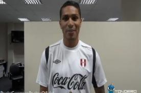 Futbol Peruano: Paolo Guerrero mandó un mensaje a los hinchas - Video