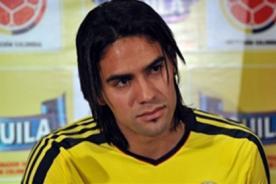Lesión de Radamel Falcao: Este es el diagnóstico del Atlético de Madrid