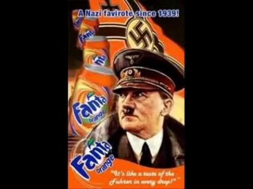 ¿Qué tienen en común la gaseosa Fanta y los nazis?