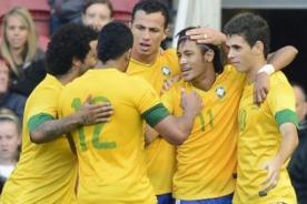 Goles del Brasil vs Egipto (3-2) - Olimpiadas 2012 - Video