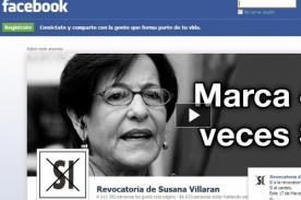 Revocatoria 2013: Promotores del SÍ pagan a Facebook por publicidad