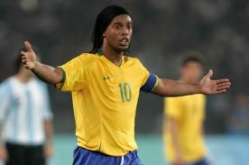 Ronaldinho no pierde la esperanza de jugar en el mundial Brasil 2014