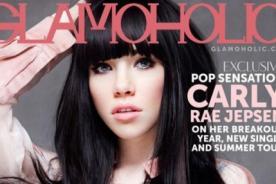 Carly Rae Jepsen luce su belleza en portada de revista Glamoholic