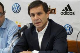 Presidente de Sporting Cristal descartó a Reimond Manco