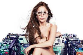 Lady Gaga se desnuda para la portada de su single Applause - Foto