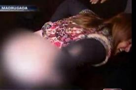 Video: Mujer ebria hace un escándalo tras chocar su auto