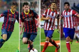 Supercopa de España: Barcelona vs Atlético de Madrid - en vivo por DirecTV