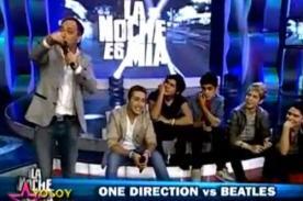 Yo Soy: The Beatles y One Direction se enfrentan en versus - Video