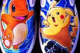 Curiosas zapatillas con diseños Pokémon no pueden faltar en tu guardarropa - Foto