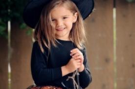 Disfraz de bruja para niña - Halloween