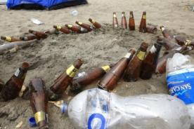 Así quedaron las playas tras celebración de Año Nuevo - Fotos