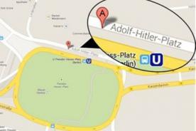 Google nombra por error una plaza Alemana en honor a Adolfo Hitler