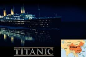 China: Crearán parque temático del Titanic