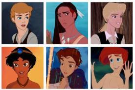 Princesas de Disney convertidas en apuestos príncipes - FOTOS