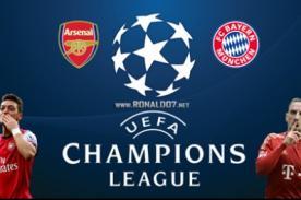 Champions League: Arsenal vs Bayern Munich en vivo por Fox Sports