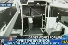 Estados Unidos: Biblia salva a un hombre de la muerte - Video