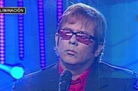 Yo Soy: Katia Palma felicita al imitador de Elton John - Video