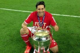 Claudio Pizarro se corona por quinta vez en la Bundesliga