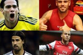 Brasil 2014: Jugadores que no irán al Mundial por estar lesionados