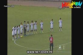 Melgar vs UTC: Rinden minuto de silencio por Óscar Avilés - VIDEO