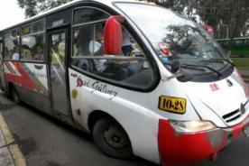 Fuera Orión: Hacen campaña en Facebook para eliminar esta línea de buses