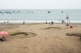 ¿Godzilla en Lima? Encuentran huellas gigantes en Costa Verde [Video]
