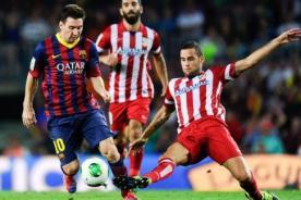 Liga BBVA: En vivo Barcelona vs Atlético de Madrid por Internet