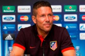 Diego Simeone no descarta a Diego Costa para final de la Champions League