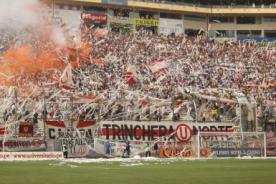 Clásico del fútbol peruano se jugaría sin la Trinchera Norte