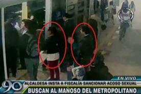 Magaly Solier: Video revela que acosador la siguió en el Metropolitano