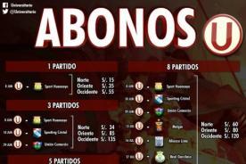 Universitario de Deportes: Abonos precios Teleticket - Descentralizado 2014