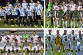 Tabla de Posiciones Mundial Brasil2014: Grupo F - Actualizado