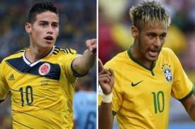 ATV en vivo: Brasil vs Colombia - Mundial Brasil 2014 (Hora peruana)
