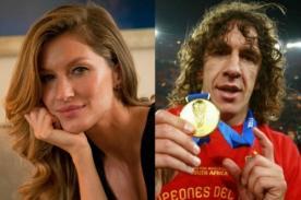 Final Mundial 2014: Gisele Bündchen entregará la copa con Carles Puyol