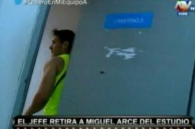 Combate: ¿Miguel Arce ya no quiere estar en el reality? - VIDEO