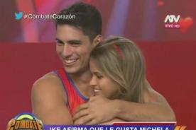 Combate: ¡Ike Parodi confiesa todo lo que siente por Michela Elías! - FOTO