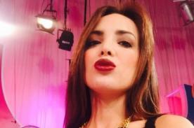 Rosángela Espinoza alienta a la selección con provocativa foto