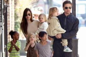 Angelina Jolie: Mis hijos me devolvieron la inocencia