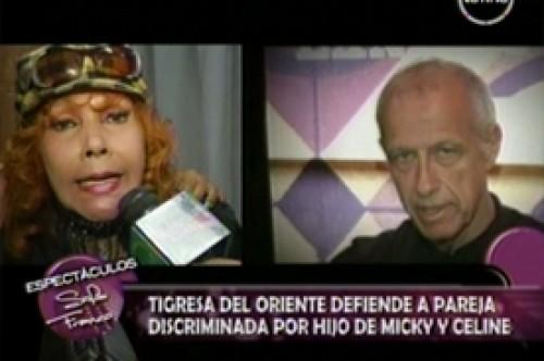 Tigresa del Oriente defendió a pareja ofendida por hijo de Celine Aguirre