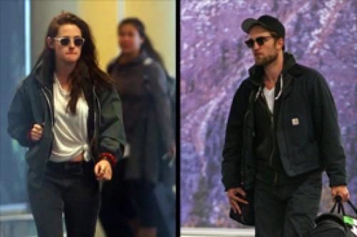 Kristen Stewart y Robert Pattinson ya están reunidos en Vancouver
