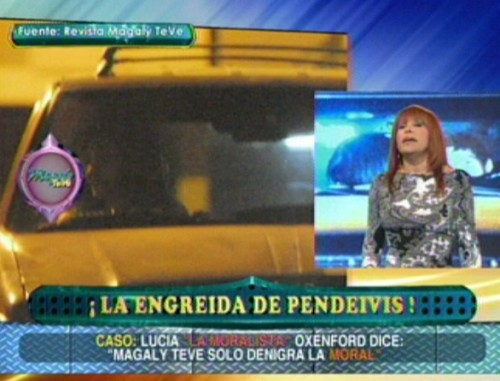 Magaly a Lucía Oxenford: Eres conchuda y bien desubicada - Video