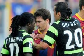 ¿Messi racista? Jugador del Everton lo acusa de llamarlo 'negro'