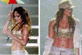 Jennifer Lopez lució espectacular en su presentación en Brasil