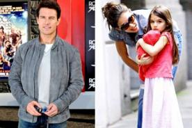 Tom Cruise espera ver varias veces a su hija