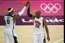 Londres 2012: Estados Unidos venció a Argentina en básquet y va por el oro